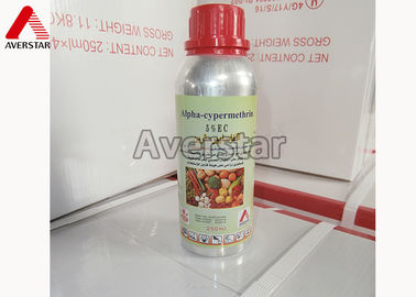 Good Quality Agricultural Herbicides & High Biological Activity Public Health Chemical Alpha - Cypermethrin 5% EC on sale